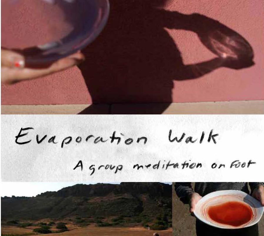 Evaporation walk with Lori Esposito