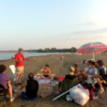 retreat on the beach