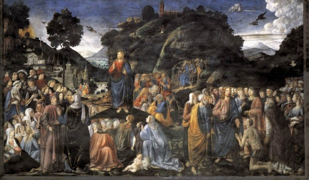 rosselli sermon on the mount
